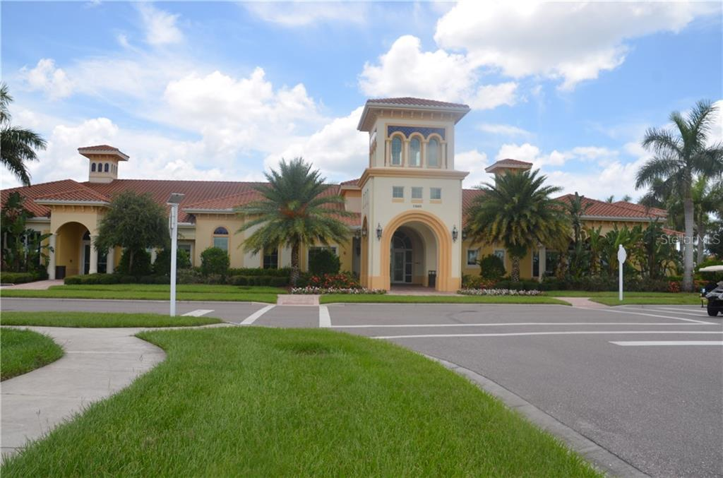 Town Center includes gathering areas for organized or impromptu card games, a craft room, large fitness area with a plethora of machines, fitness room for group classes, kitchen for hosting functions, steps out to fabulous pool area. - Single Family Home for sale at 13328 Coluccio St, Venice, FL 34293 - MLS Number is A4160649