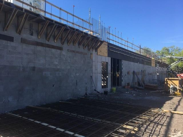 Garage 1 under construction - Condo for sale at 711 S Palm Ave #403, Sarasota, FL 34236 - MLS Number is A4173673