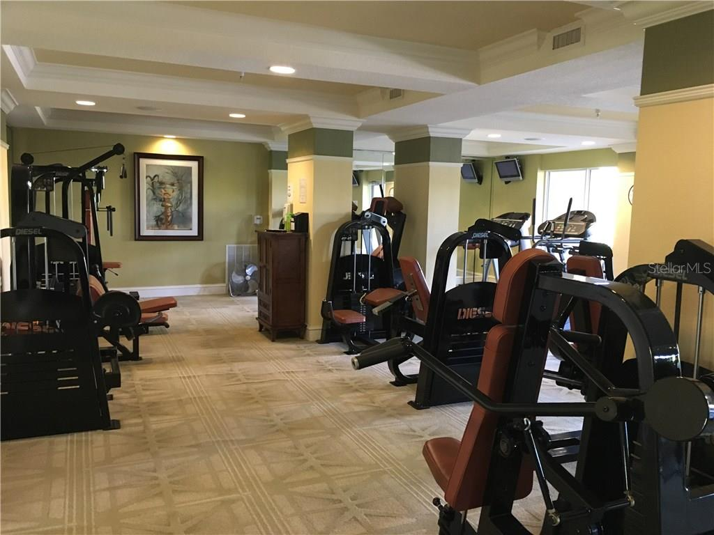 Fitness Center for residents' use. - Condo for sale at 1064 N Tamiami Trl #1131, Sarasota, FL 34236 - MLS Number is A4174927