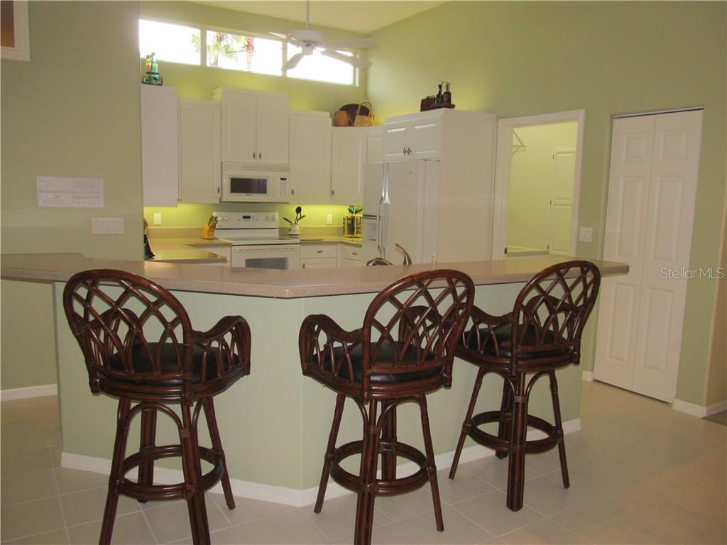 KITCHEN AREA. - Single Family Home for sale at 7007 Chickasaw Bayou Rd, Bradenton, FL 34203 - MLS Number is A4177136
