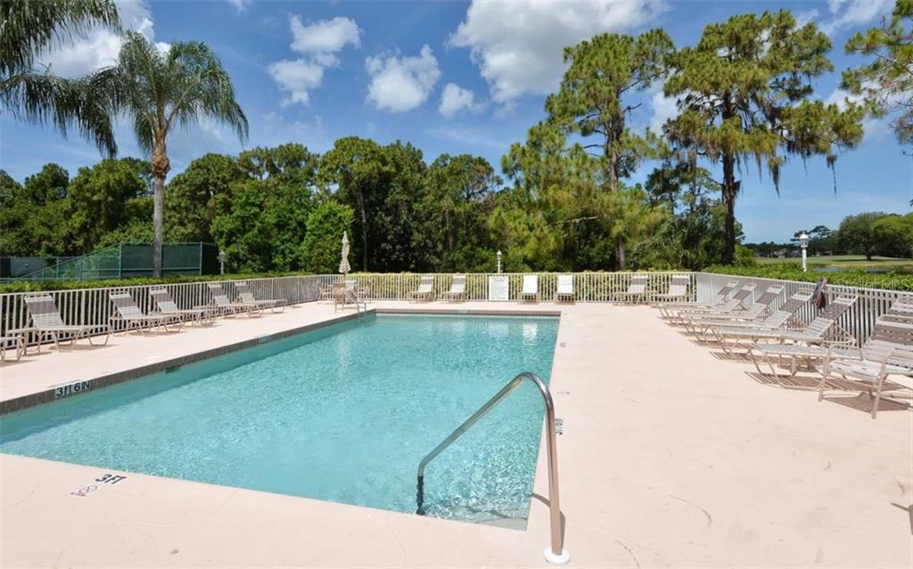 Terraces Community heated pool. - Condo for sale at 8750 Olde Hickory Ave #9305, Sarasota, FL 34238 - MLS Number is A4178271