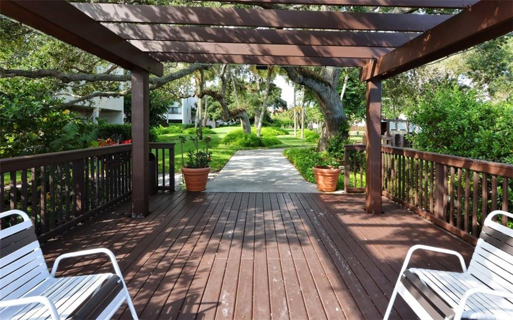 Fishing pier - Condo for sale at 6263 Midnight Pass Rd #101, Sarasota, FL 34242 - MLS Number is A4182245