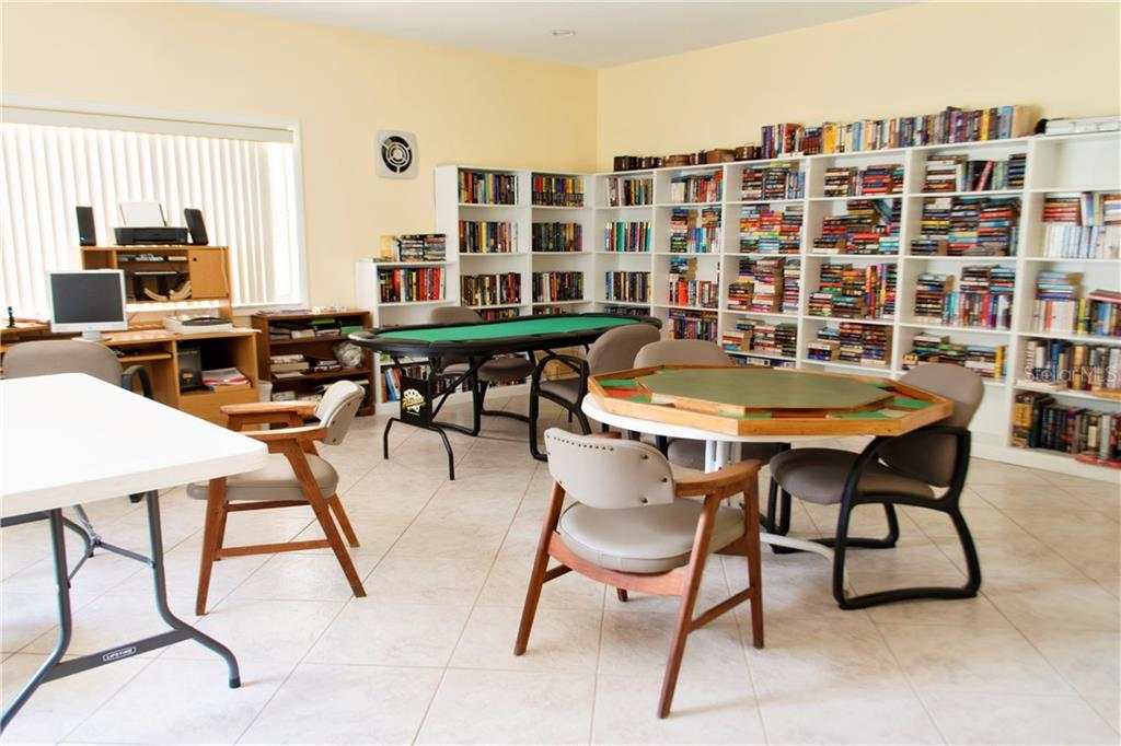 Library, Computer Room and Separate 24 Access to Work Out Facilities - Condo for sale at 1310 Glen Oaks Dr E #388e, Sarasota, FL 34232 - MLS Number is A4182635
