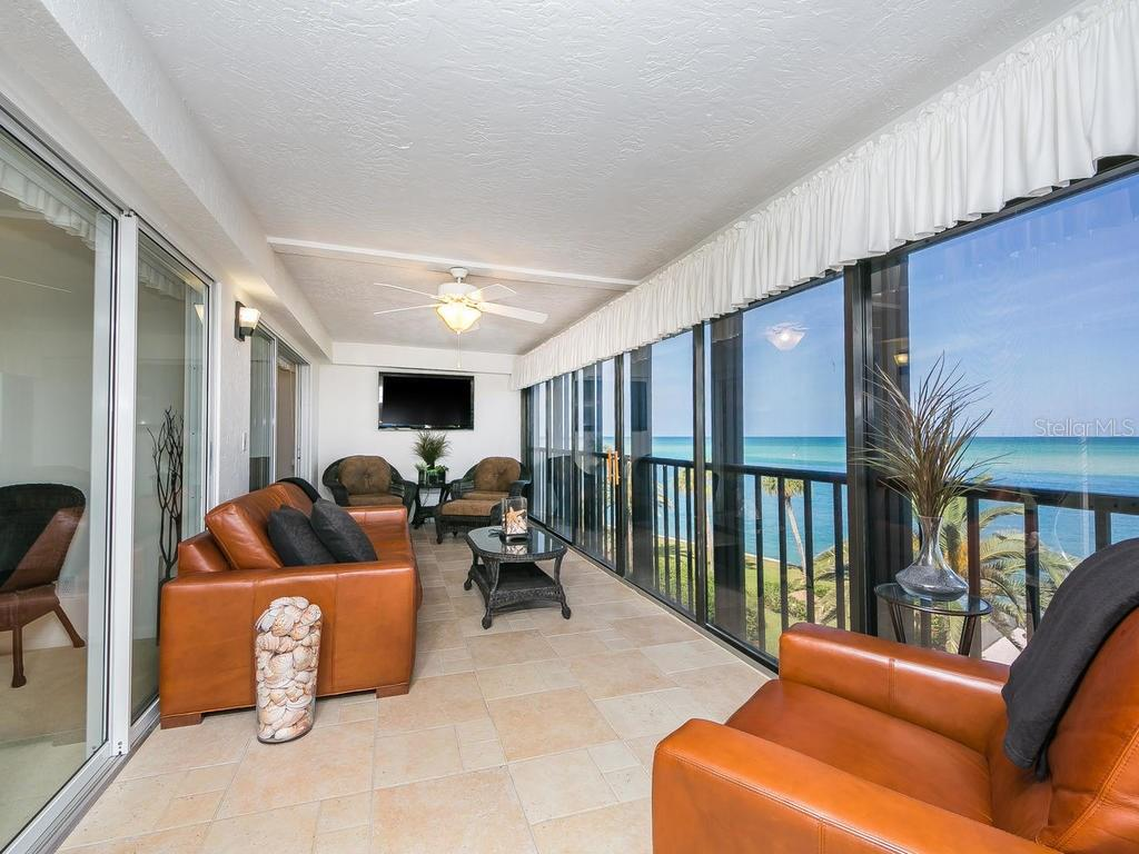 Balcony with views of Big Pass - Condo for sale at 4708 Ocean Blvd #e8, Sarasota, FL 34242 - MLS Number is A4184028