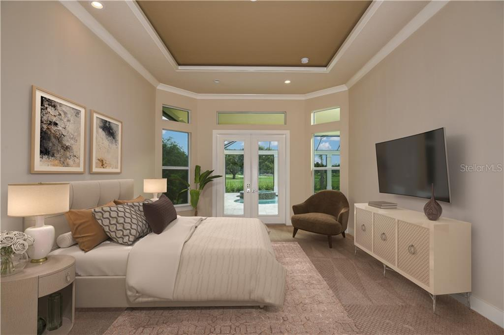The amazing Master Bedroom. - Single Family Home for sale at 4046 Mayors Ct, Sarasota, FL 34240 - MLS Number is A4185203