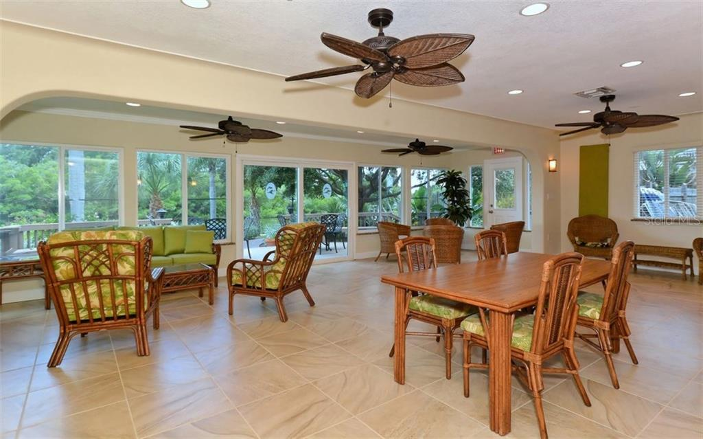 Clubhouse social room - Condo for sale at 9397 Midnight Pass Rd #403, Sarasota, FL 34242 - MLS Number is A4185842
