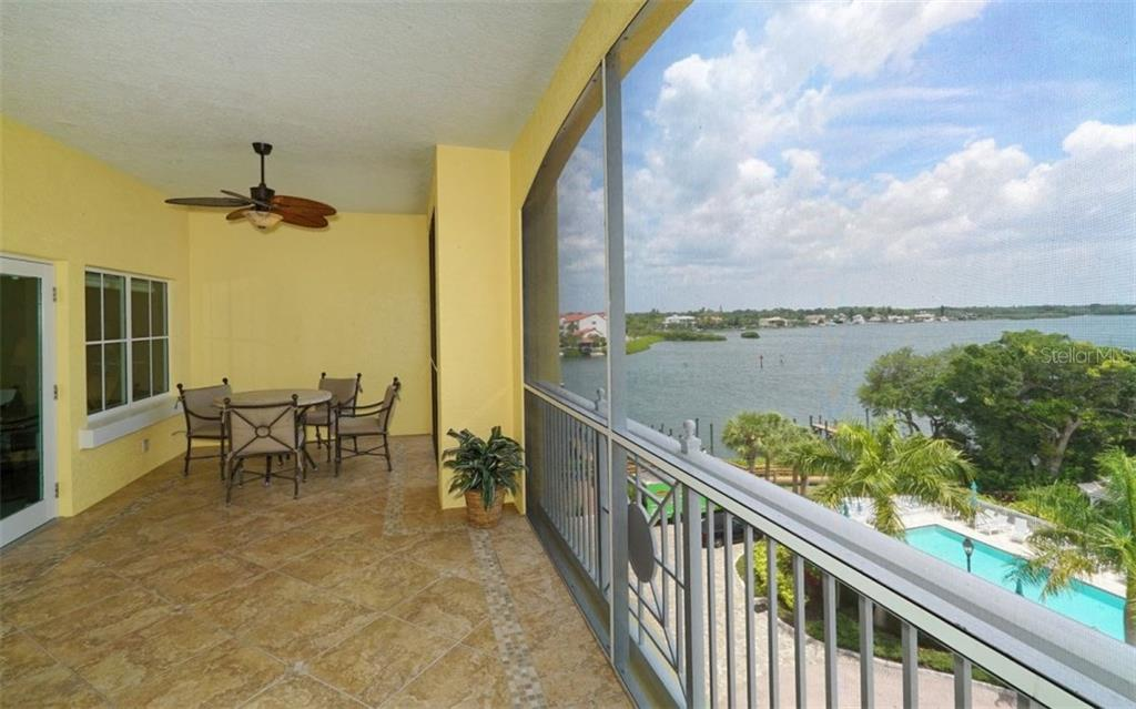 Views from screened balcony - Condo for sale at 1310 Old Stickney Point Rd #e53, Sarasota, FL 34242 - MLS Number is A4186018