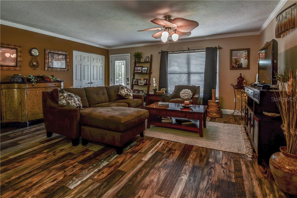 Open Floor Plan.  Kitchen opens to family room and covered patio through French doors. Great entertaining space.  Large home office off of family room. - Single Family Home for sale at 8916 44th Avenue Dr W, Bradenton, FL 34210 - MLS Number is A4186449