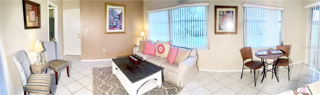 full  family room view - Villa for sale at 510 Villa Park Dr #510, Nokomis, FL 34275 - MLS Number is A4188232