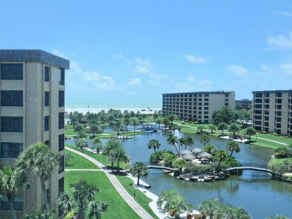 View from Unit. - Condo for sale at 5770 Midnight Pass Rd #601, Sarasota, FL 34242 - MLS Number is A4188358