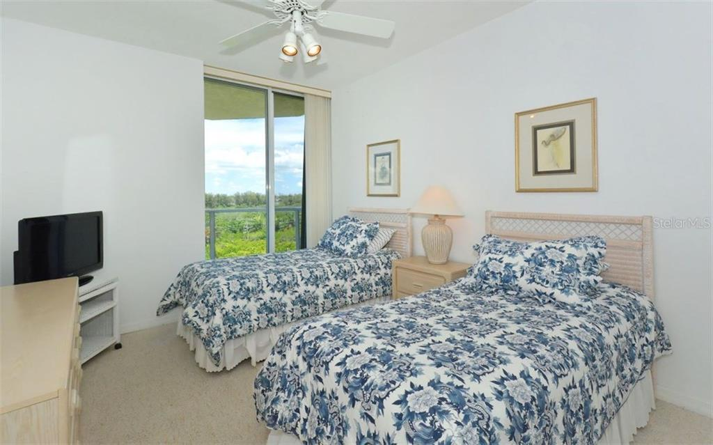 View from Second bedroom - Condo for sale at 1800 Benjamin Franklin Dr #b507, Sarasota, FL 34236 - MLS Number is A4188540