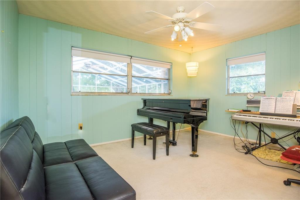 Bedroom 3 of 3 - Single Family Home for sale at 3448 Pine Valley Dr, Sarasota, FL 34239 - MLS Number is A4188545