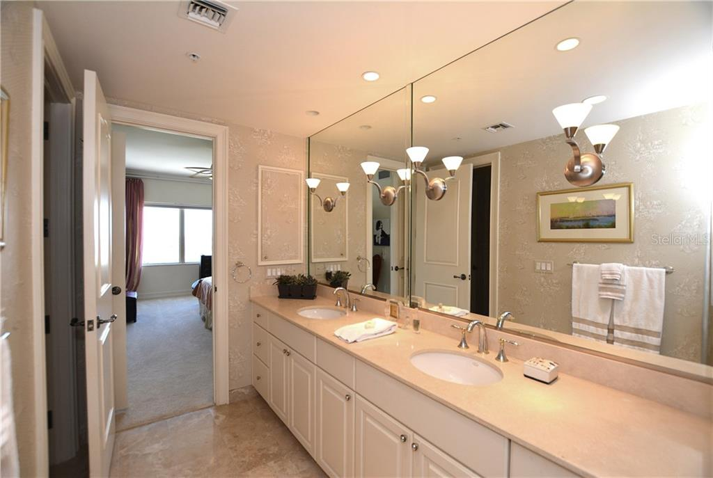 Master Bath - Condo for sale at 1111 Ritz Carlton Dr #1505, Sarasota, FL 34236 - MLS Number is A4188921