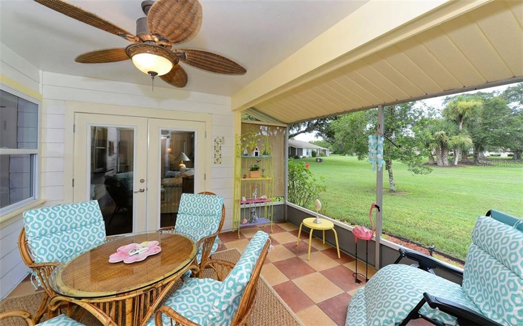 Open aired lanai - Villa for sale at 4248 Oakhurst Cir E #3066, Sarasota, FL 34233 - MLS Number is A4192258