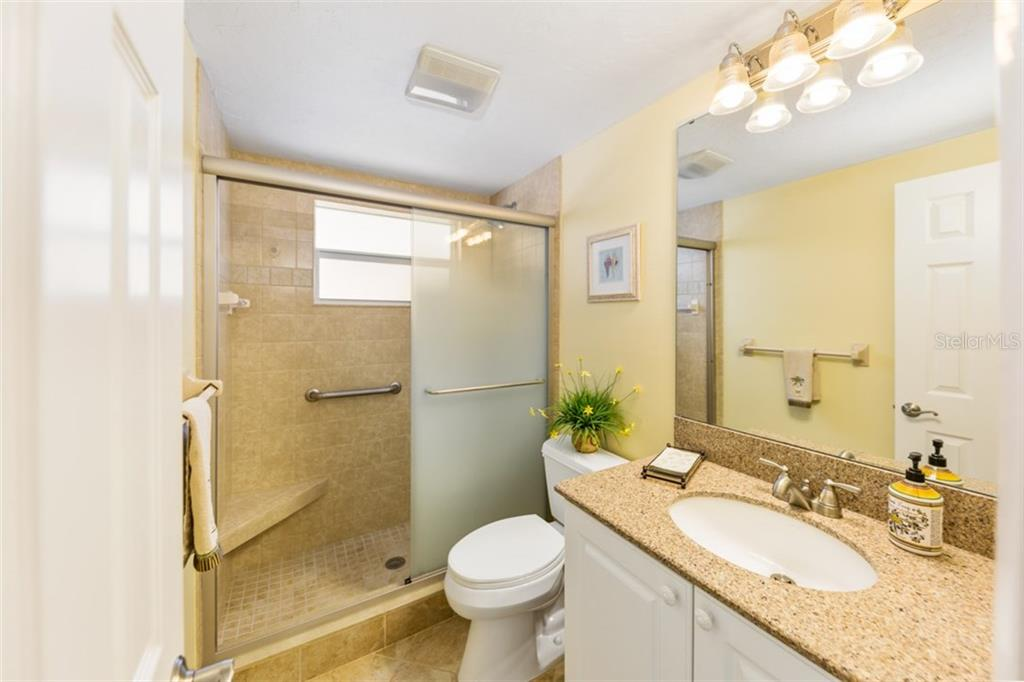 2nd bathroom - Condo for sale at 6140 Midnight Pass Rd #c-9, Sarasota, FL 34242 - MLS Number is A4195879