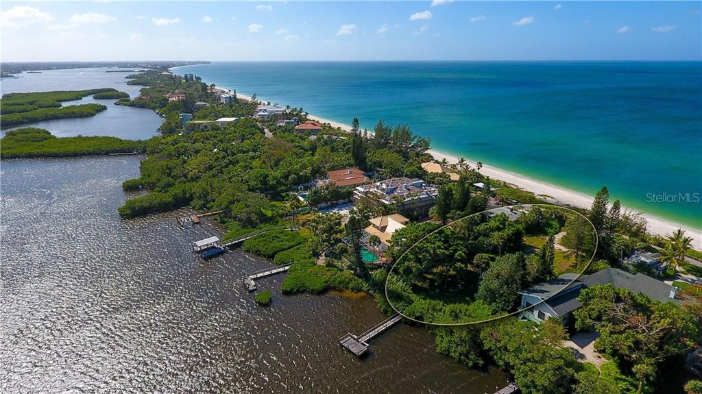 Steps to private deeded beach - Vacant Land for sale at 3220 Casey Key Rd, Nokomis, FL 34275 - MLS Number is A4197366