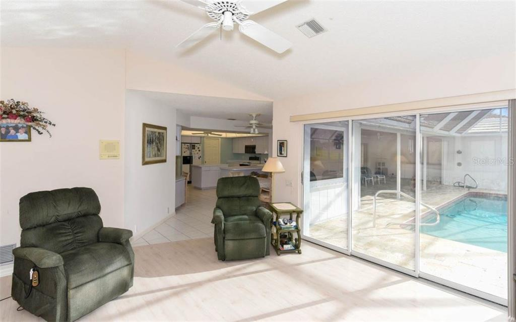 Large Family Room is Bright and Cheery - Single Family Home for sale at 1632 Valley Dr, Venice, FL 34292 - MLS Number is A4197771
