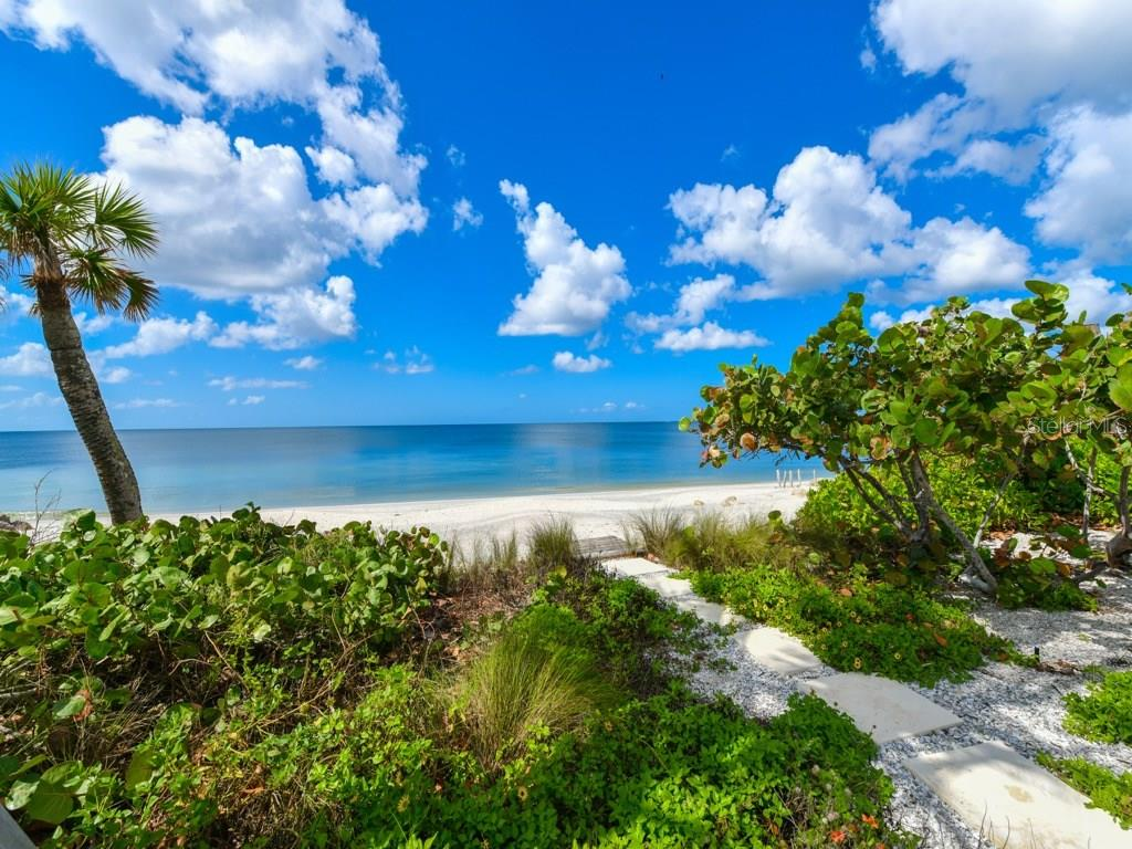 Private Beach on the Gulf of Mexico - Single Family Home for sale at 418 N Casey Key Rd, Osprey, FL 34229 - MLS Number is A4198549