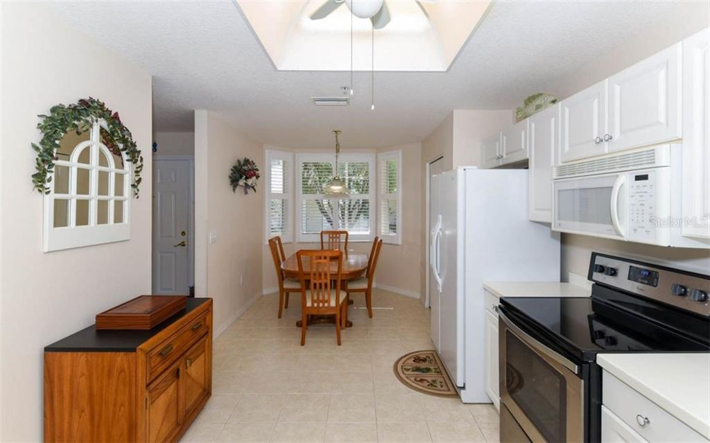 Large Oversized Kitchen - Condo for sale at 5280 Hyland Hills Ave #1814, Sarasota, FL 34241 - MLS Number is A4202373