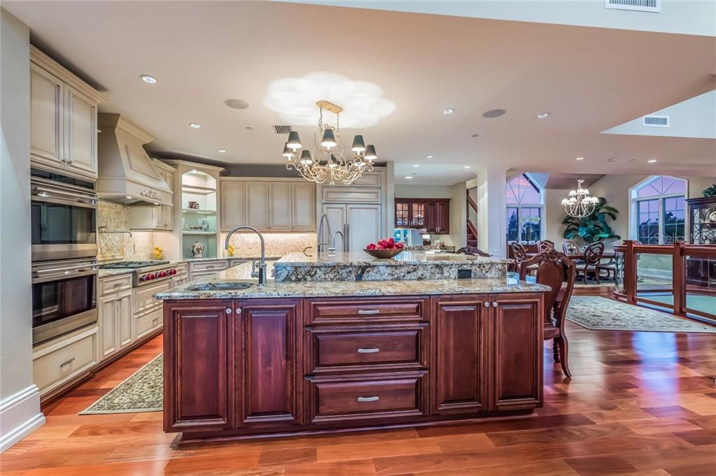 Spacious Gourmet Kitchen - Single Family Home for sale at 39 Tidy Island Blvd, Bradenton, FL 34210 - MLS Number is A4202735