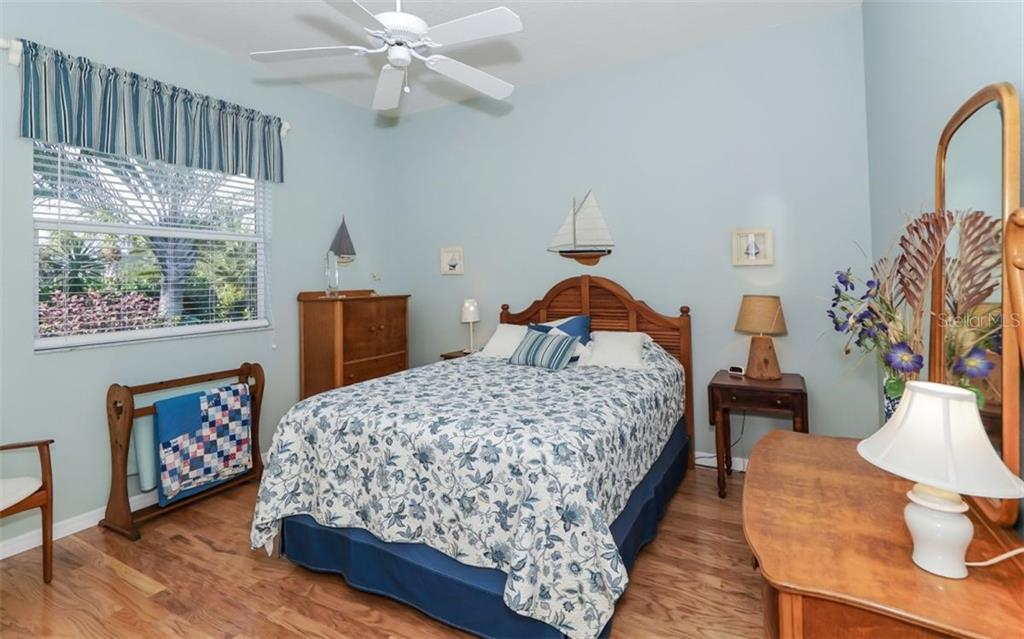2nd Bedroom with Hardwood Floors - Single Family Home for sale at 460 Otter Creek Dr, Venice, FL 34292 - MLS Number is A4205372