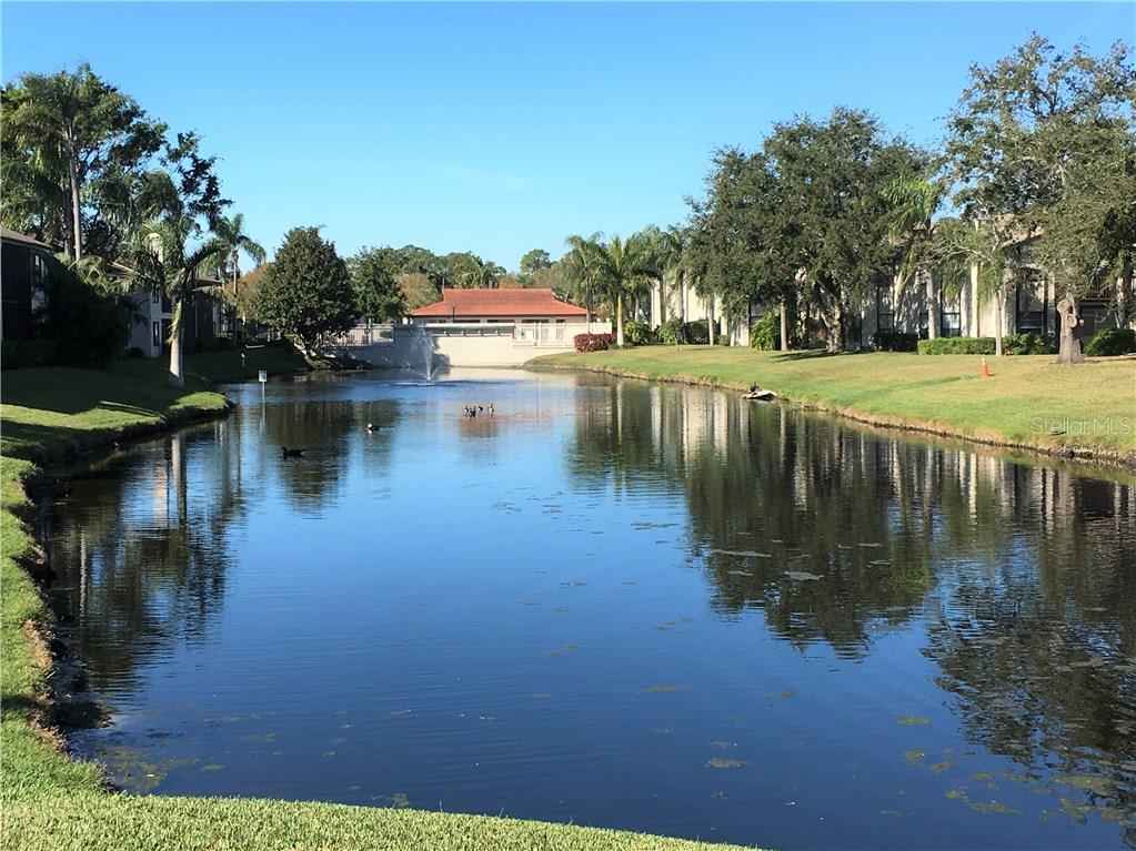 Community tennis courts. - Condo for sale at 3858 59th Ave W #4178, Bradenton, FL 34210 - MLS Number is A4206819