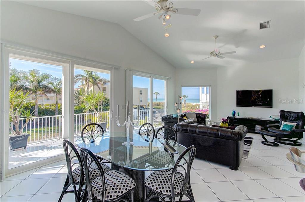 Dining/Living Room - Single Family Home for sale at 104 43rd St, Holmes Beach, FL 34217 - MLS Number is A4209338