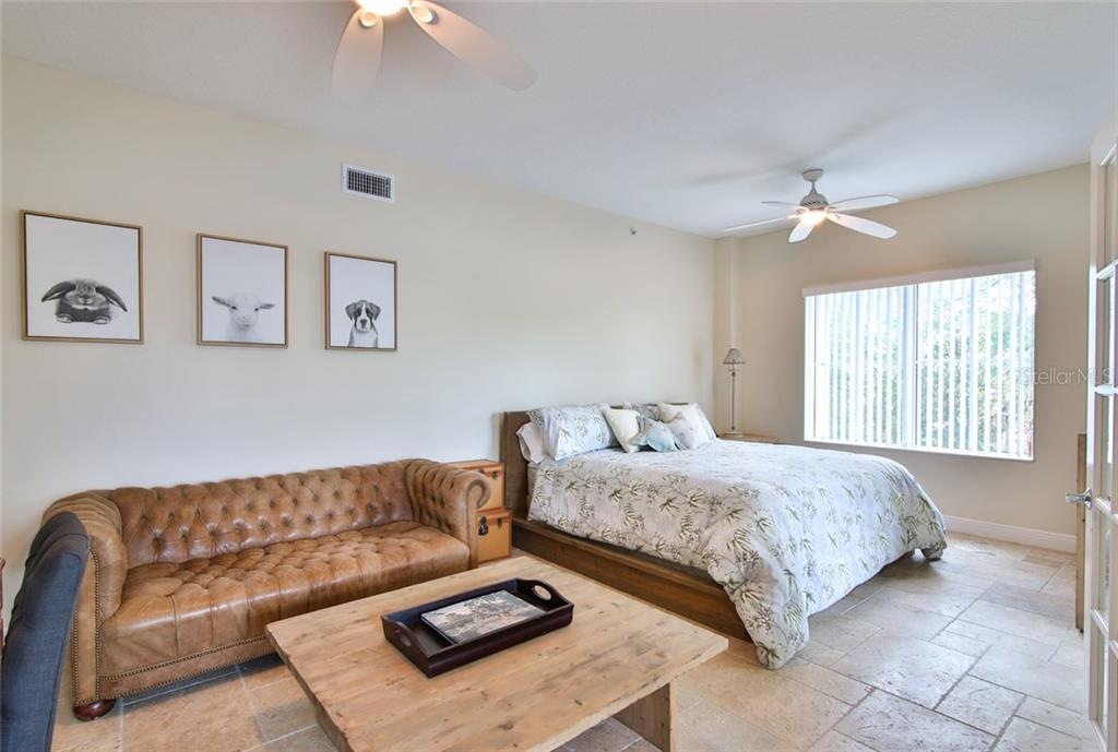 Guest  Bedroom/Den - Condo for sale at 1310 Old Stickney Point Rd #e21, Sarasota, FL 34242 - MLS Number is A4209502