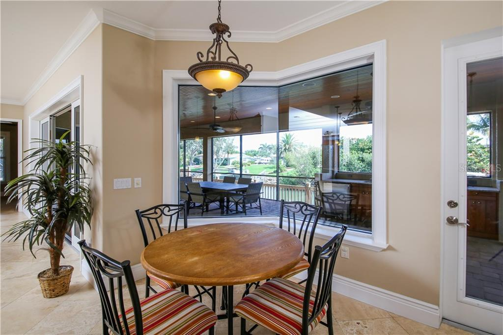 Breakfast Area - Single Family Home for sale at 432 Sorrento Dr, Osprey, FL 34229 - MLS Number is A4402898