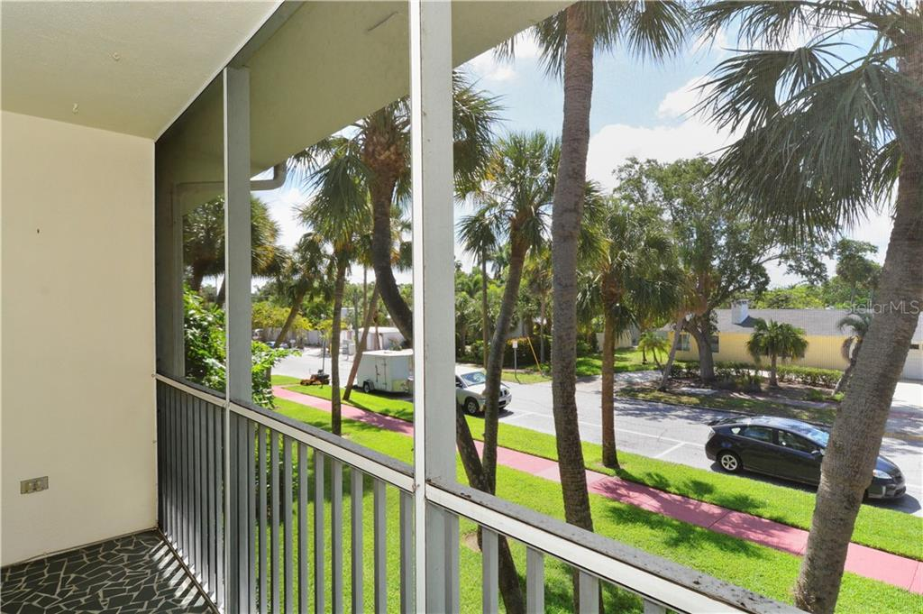 View of Monroe from balcony of unit - Condo for sale at 500 S Washington Dr #3b, Sarasota, FL 34236 - MLS Number is A4403390