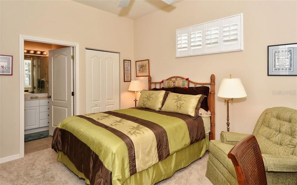 2nd bedroom - Villa for sale at 1647 Lancashire Dr #1647, Venice, FL 34293 - MLS Number is A4404210