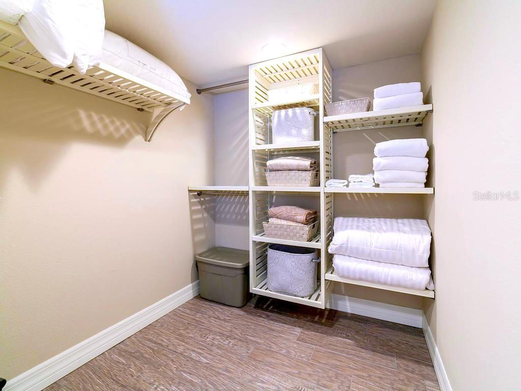 Guest Closet - Condo for sale at 4215 Gulf Of Mexico Dr #103, Longboat Key, FL 34228 - MLS Number is A4404956