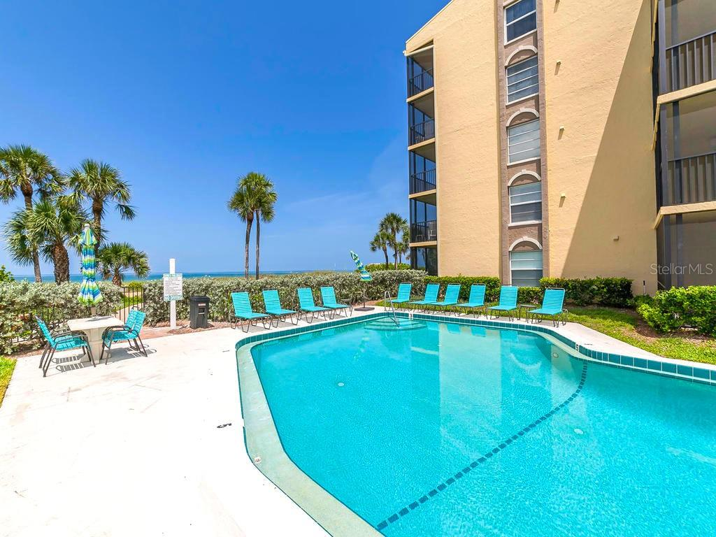 Beautiful Beachside Pool - Condo for sale at 4215 Gulf Of Mexico Dr #103, Longboat Key, FL 34228 - MLS Number is A4404956