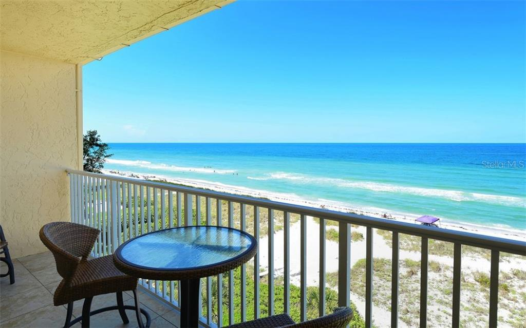 Newly tiled lanai with direct Beach and Gulf views. - Condo for sale at 4311 Gulf Of Mexico Dr #601, Longboat Key, FL 34228 - MLS Number is A4405195