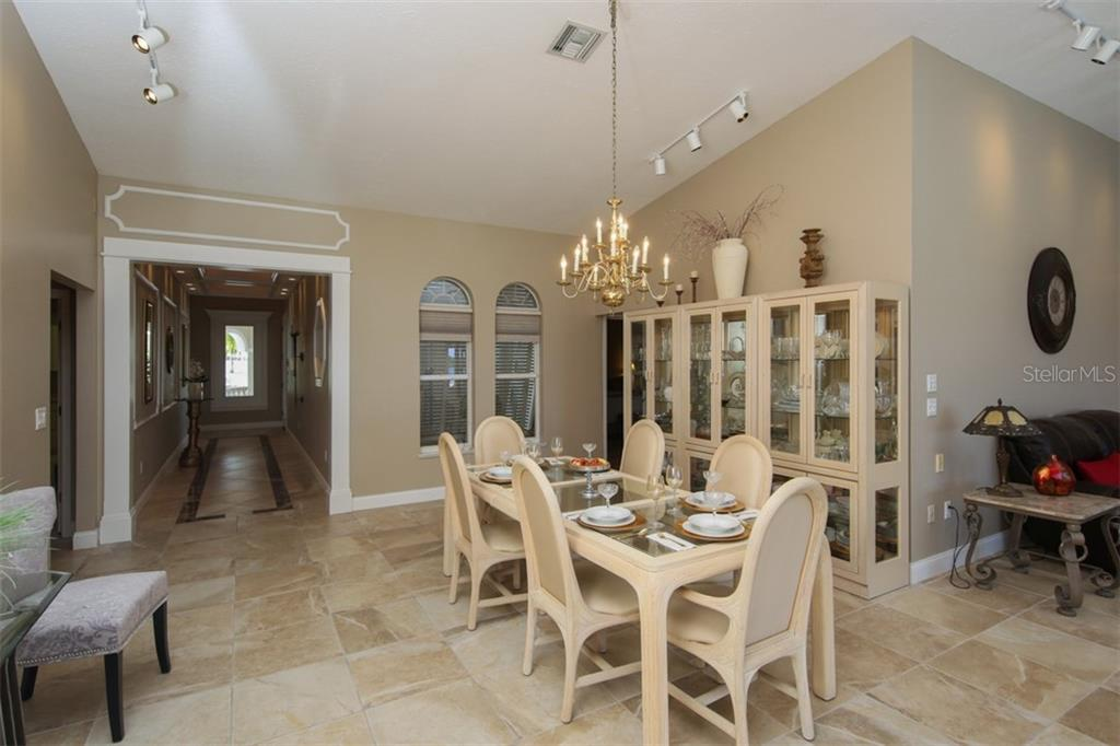 High Ceilings and Large Rooms - Single Family Home for sale at 1778 Bayshore Dr, Englewood, FL 34223 - MLS Number is A4405962