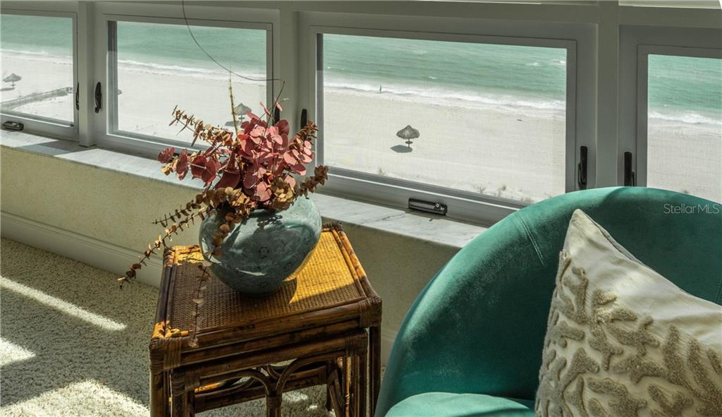 View from Master Bedroom - Condo for sale at 435 L Ambiance Dr #k806, Longboat Key, FL 34228 - MLS Number is A4406683