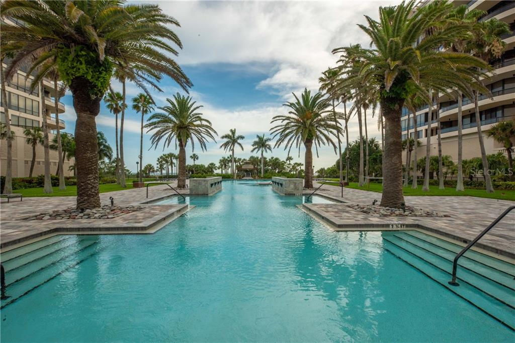 Largest pool on the Gulf in Florida - Condo for sale at 435 L Ambiance Dr #k806, Longboat Key, FL 34228 - MLS Number is A4406683