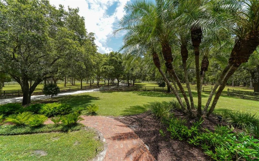 Absolute serenity!! Your view from the front porch! - Single Family Home for sale at 7866 Saddle Creek Trl, Sarasota, FL 34241 - MLS Number is A4407172
