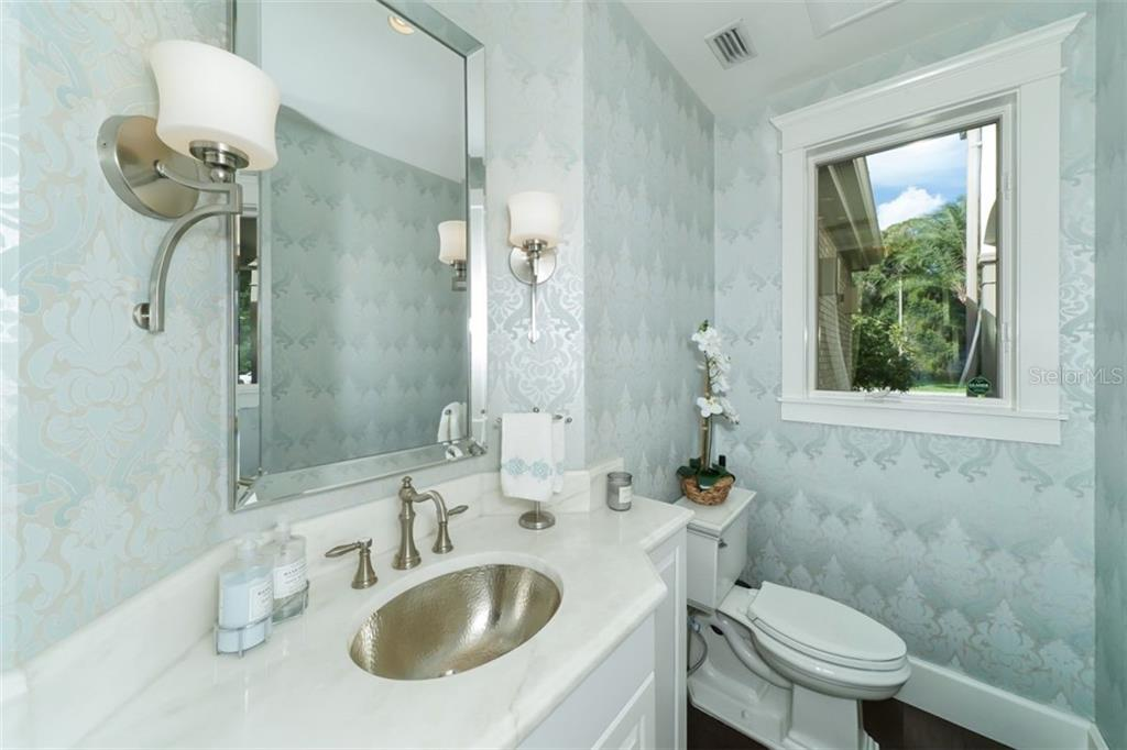 Powder Room - Single Family Home for sale at 3183 Dick Wilson Dr, Sarasota, FL 34240 - MLS Number is A4412326