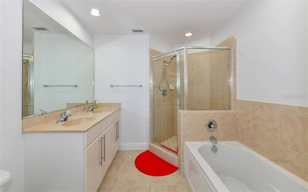 Master Bath - Condo for sale at 1771 Ringling Blvd #1011, Sarasota, FL 34236 - MLS Number is A4414630