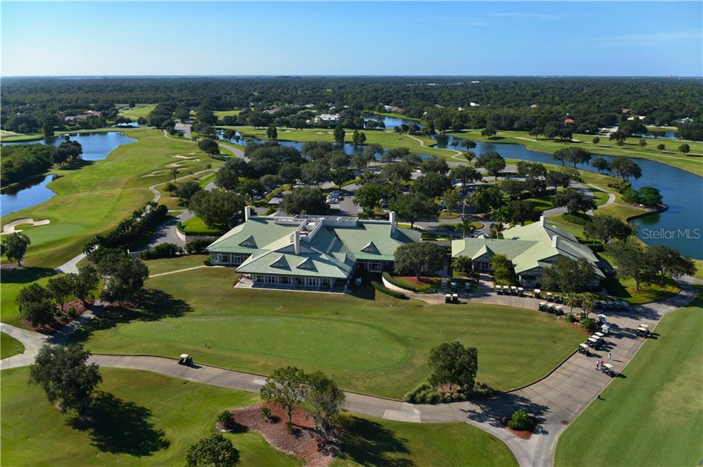 Laurel Oak Country Club - Club House - Single Family Home for sale at 7659 Alister Mackenzie Dr, Sarasota, FL 34240 - MLS Number is A4416607