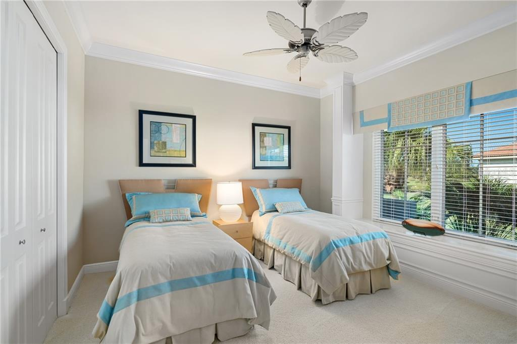 GUEST BEDROOM 2 - Single Family Home for sale at 4121 Founders Club Dr, Sarasota, FL 34240 - MLS Number is A4417319