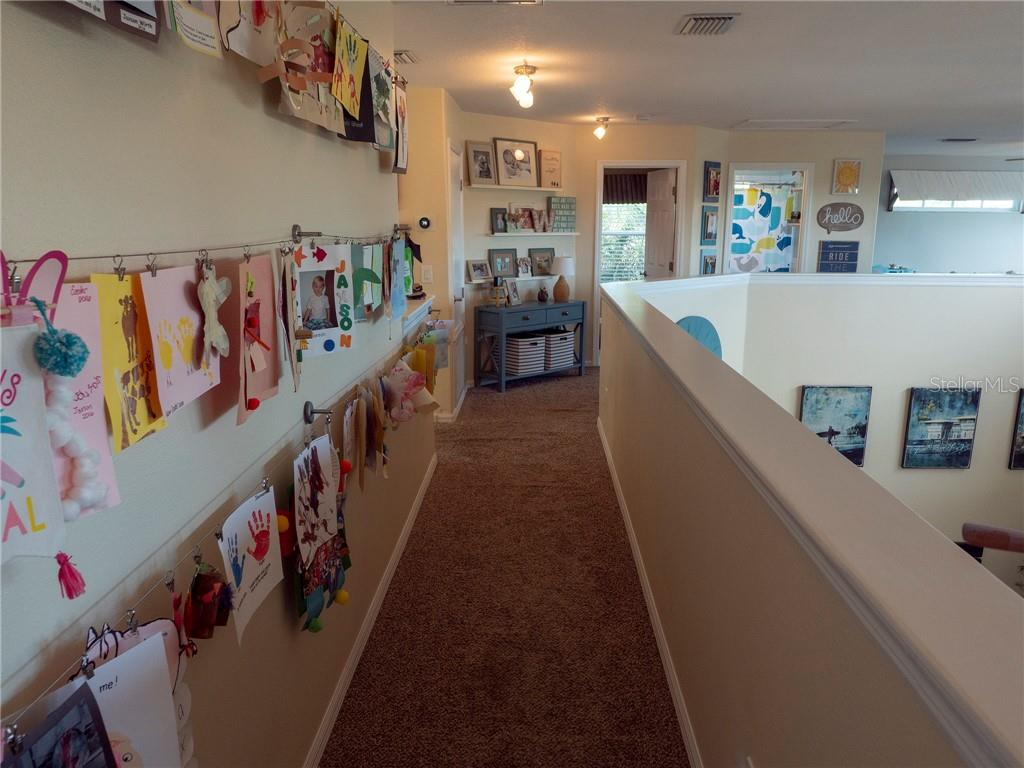 Love the openness of this upstairs hallway! - Single Family Home for sale at 3803 5th Ave Ne, Bradenton, FL 34208 - MLS Number is A4417524