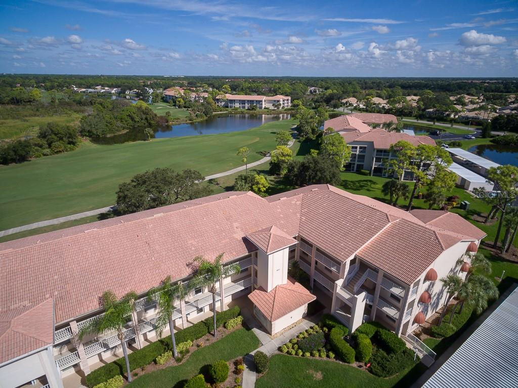 Aerial of building - Condo for sale at 9620 Club South Cir #5110, Sarasota, FL 34238 - MLS Number is A4418081