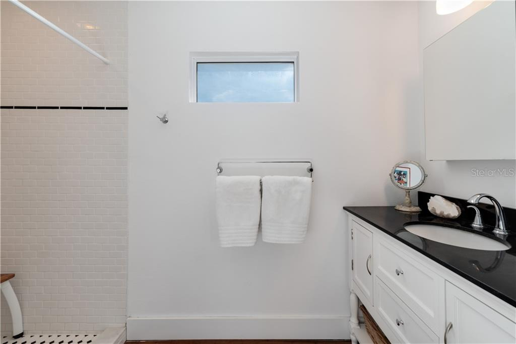 Guest house bathroom. - Single Family Home for sale at 147 Garfield Dr, Sarasota, FL 34236 - MLS Number is A4420375