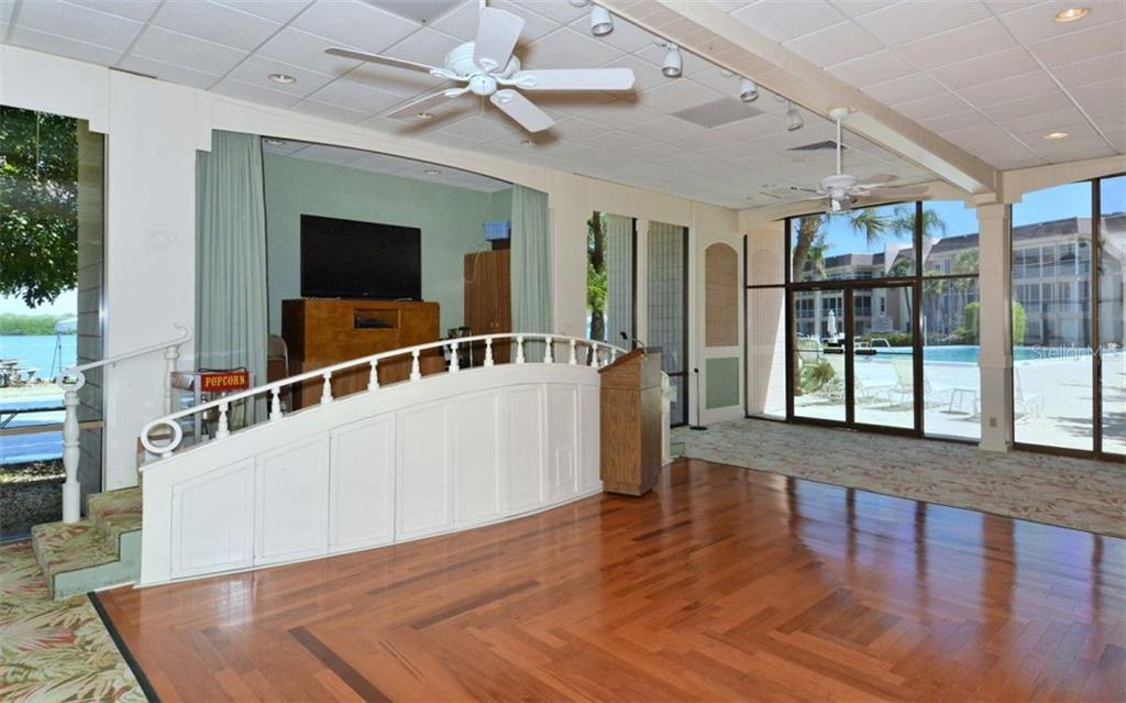 Community Clubhouse/Dining Room - Condo for sale at 4370 Chatham Dr #204, Longboat Key, FL 34228 - MLS Number is A4421600
