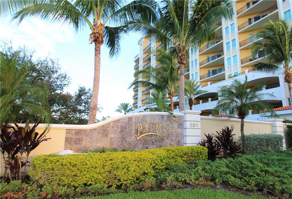 Community Entrance - Condo for sale at 501 Haben Blvd #504, Palmetto, FL 34221 - MLS Number is A4421758