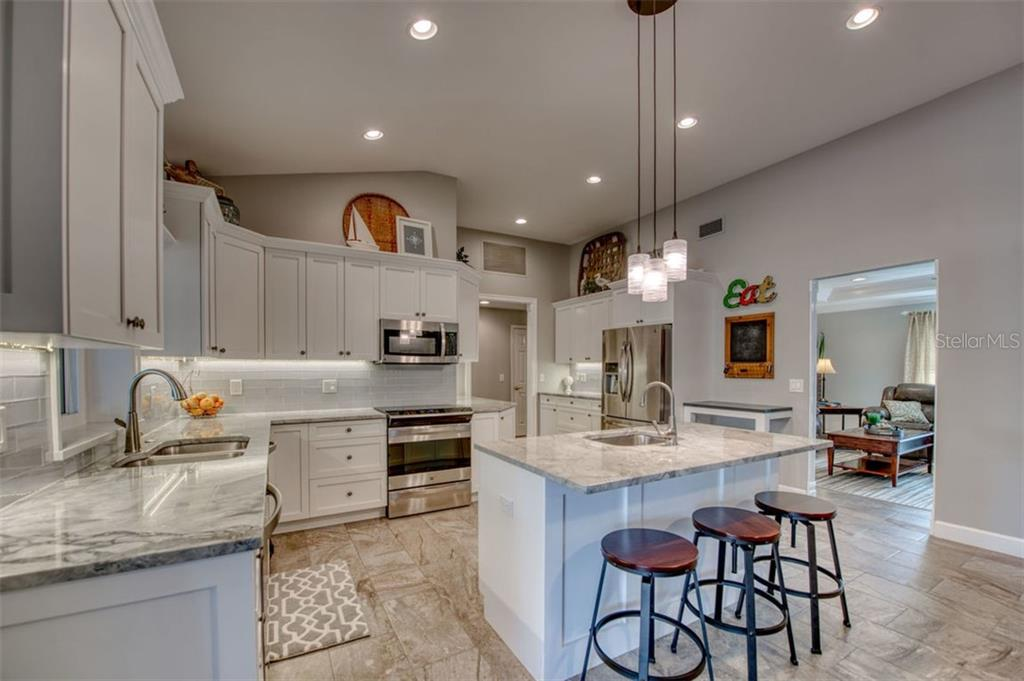 Totally new kitchen - Single Family Home for sale at 5548 Shadow Lawn Dr, Sarasota, FL 34242 - MLS Number is A4423461