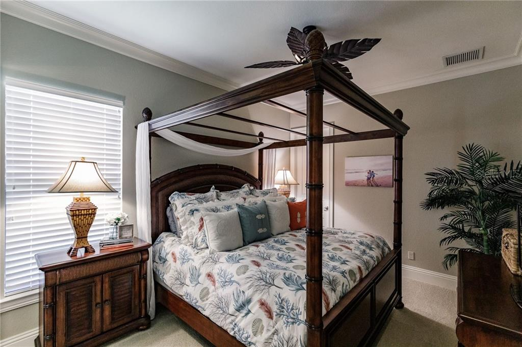 Bedroom 2 - Single Family Home for sale at 20 Blake Way, Osprey, FL 34229 - MLS Number is A4423645