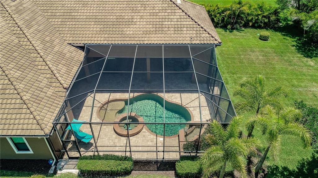 Totally Private Pool/Lanai - Single Family Home for sale at 20 Blake Way, Osprey, FL 34229 - MLS Number is A4423645